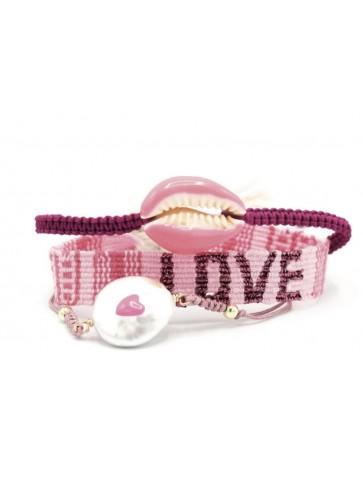Set de 3 bracelets Lovely