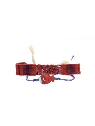 Bracelet set Love Fish red