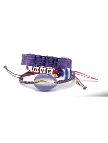 Bracelet - Purple rain