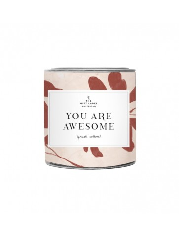 Big candle Tin - YOU ARE...