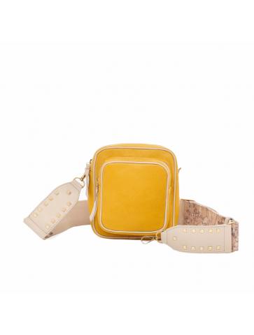 Charly mini bag in yellow...
