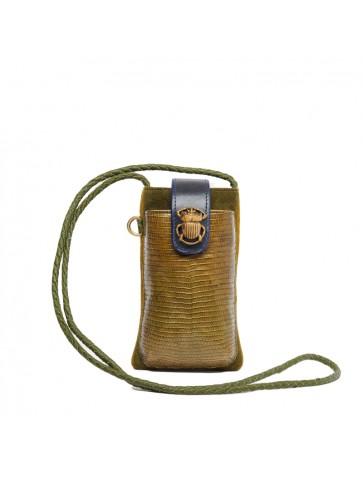 Kaki Mustard Phone Bag...