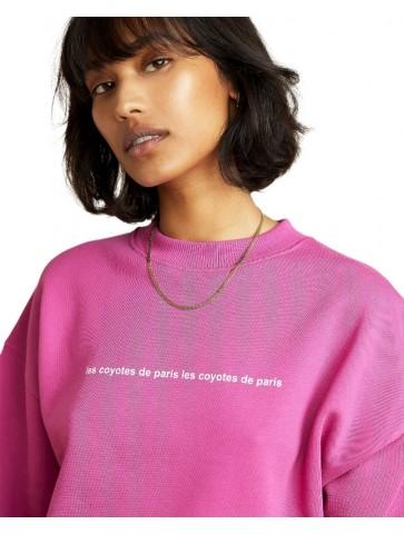 Ross sweat-shirt rose 90ties