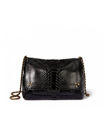 Bag Lulu L Python noir...