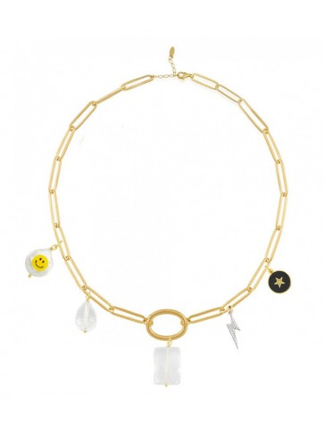 Collier Charms kitty