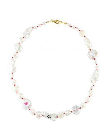 Collier Funny pearl