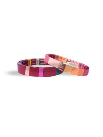 Duo Bracelets colorés -...