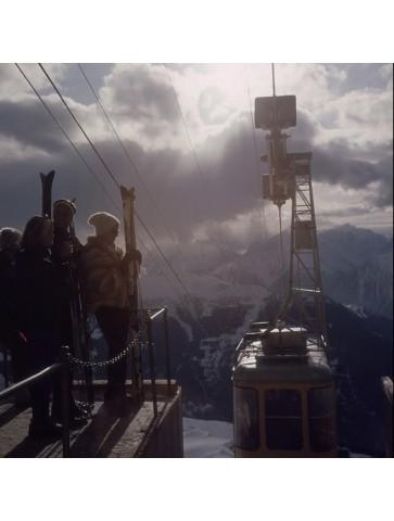 Alpine skiing by Slim Aarons