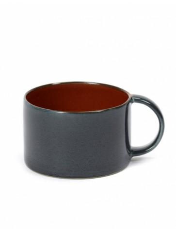 Tasse à café Rust/Dark blue