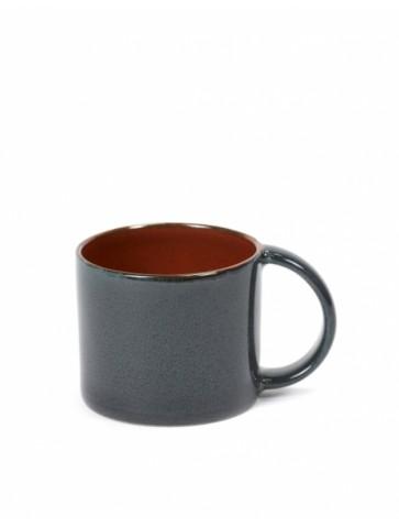 Espresso  cup Rust/Dark blue